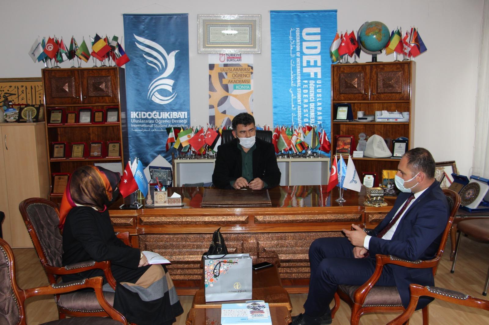 İl Göç İdaresi Müdürü Buzcu'dan Derneğimize Zİyaret