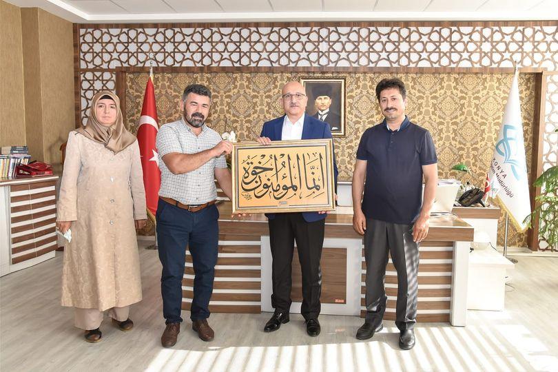 İki Doğu İki Batı'dan İl Milli Eğitim Müdürü Büyük'e Ziyaret