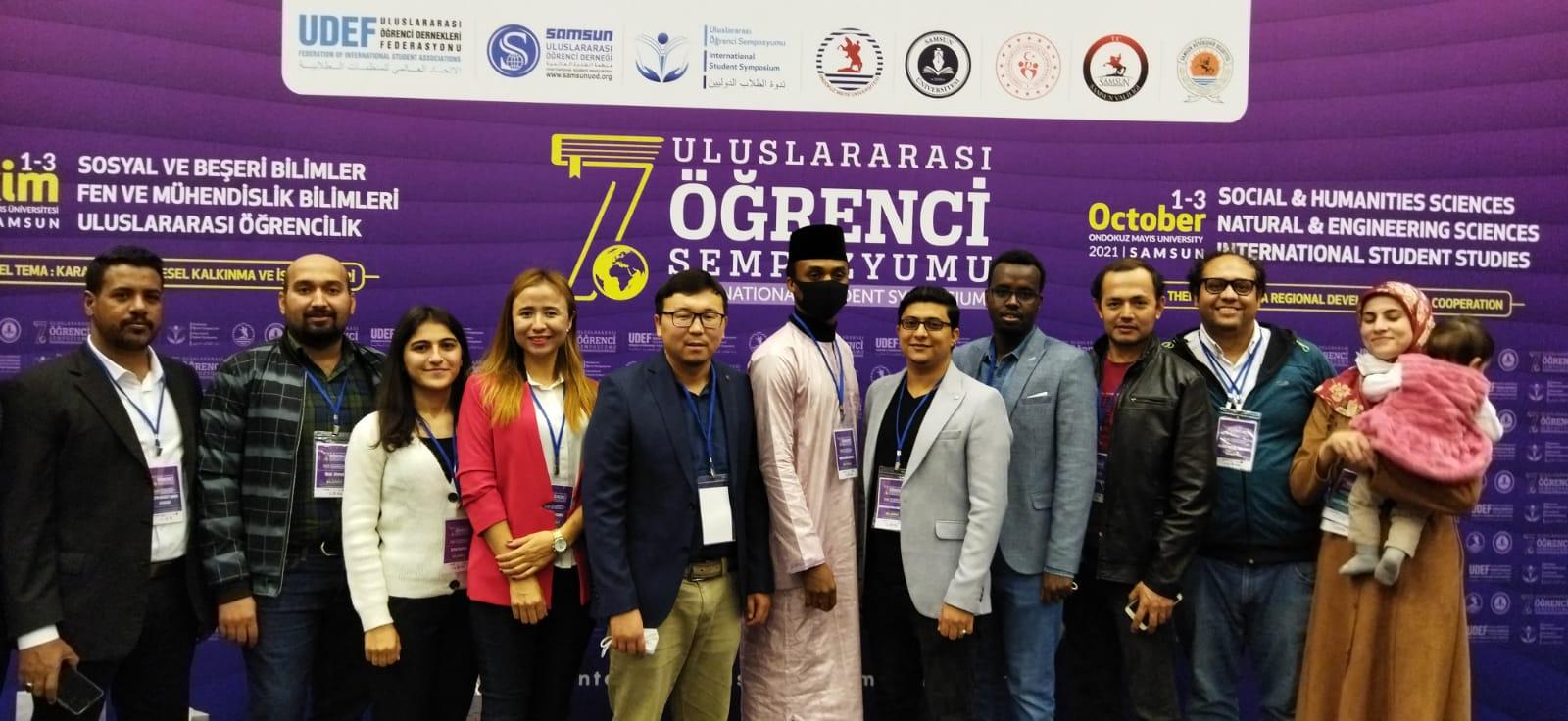 13 Öğrencimiz UDEF 7. uluslararası Öğrenci Sempozyumuna Katıldı